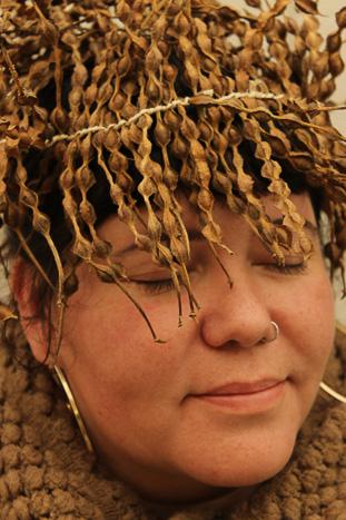 kowhai seedpods by Birgit Moffatt