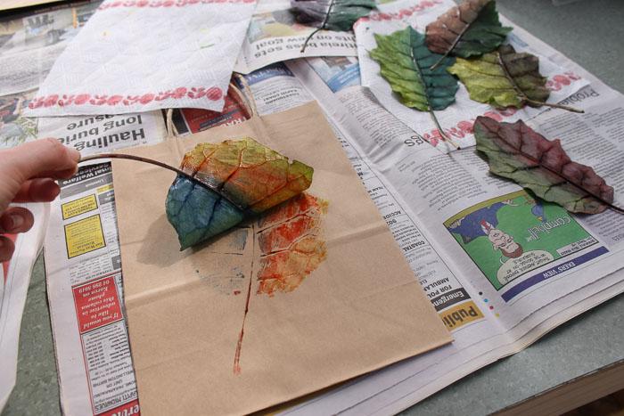 rangiora print by Birgit Moffatt
