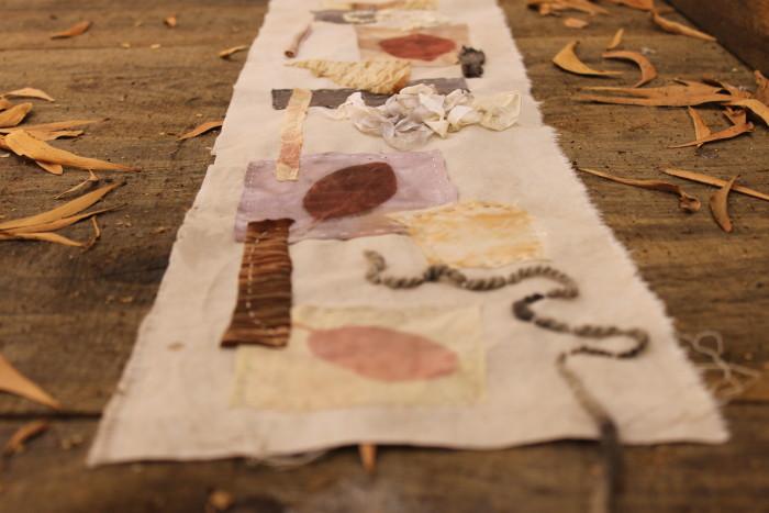 print stitch dye by Birgit Moffatt