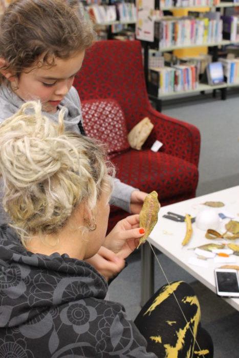 Leaf Stitching with Birgit Moffatt