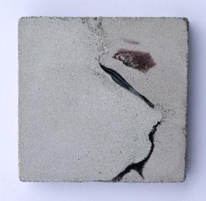 concrete painting by Birgit Moffatt