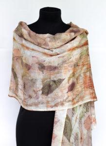 merino shawl by Birgit Moffatt