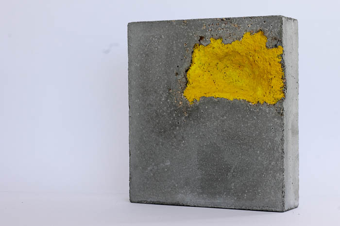 concrete gouache by Birgit Moffatt