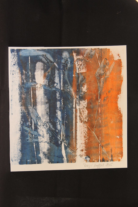 DSP on paper by Birgit Moffatt