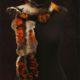 felt scarf by Birgit Moffatt