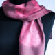 natural dyed scarf by Birgit Moffatt