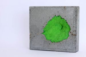concrete, gouache by Birgit Moffatt