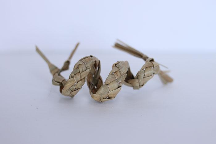 harakeke sculptures by Birgit Moffatt