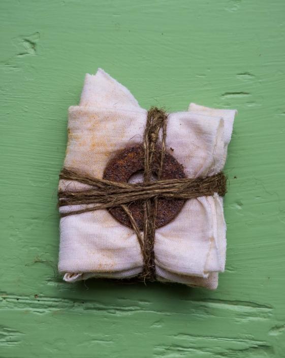 eco dye bundles by Birgit Moffatt